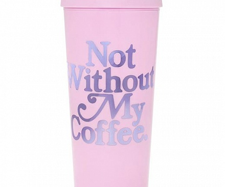Термокружка ban.do - Not Without My Coffee